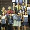 Championship Golf Team From Beatitudes of Our Lord Recognized by La Mirada City Council
