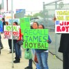 'Teacher Jail' Demonstration Against Central Basin Director Roybal Attracts Police, Protestors