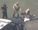 Suspect taken into custody after high-speed chase ends outside Commerce Casino