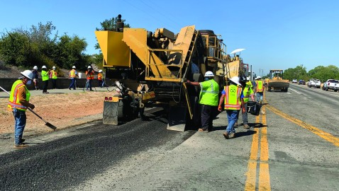 Caltrans Repaves Roadway Using Recycled Plastic Bottles, Process Also Cuts Greenhouse Gasses