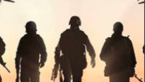 Trump ad 'support the troops' uses a picture of Russian jets and soldiers