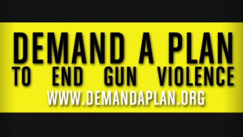 Demand A Plan To End Gun Violence campaign begins with new outreach effort in America.