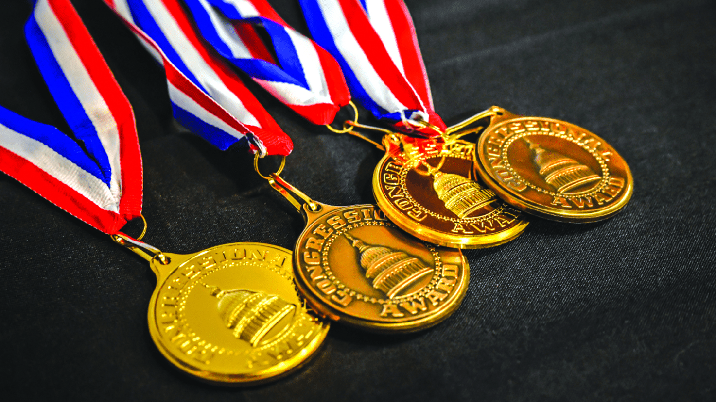 Local Students Earn Congressional Award Gold Medal