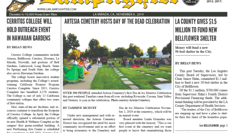 November 8, 2019 La Mirada Lamplighter eNewspaper