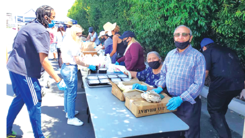 Jay Bharat Delivers Free Meals To College Students