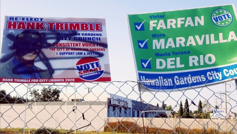 Dirty Politics Mar Council Race in Hawaiian Gardens