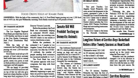 June 4, 2021 La Mirada Lamplighter eNewspaper