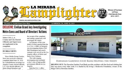 June 18, 2021  La Mirada Lamplighter eNewspaper