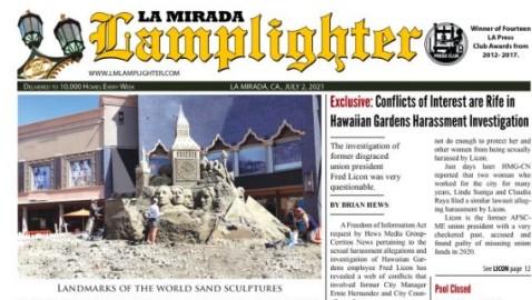 July 2, 2021 La Mirada Lamplighter eNewspaper