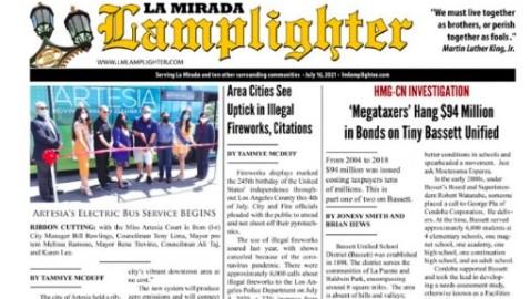 July 16, 2021 La Mirada Lamplighter eNewspaper