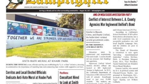 August 20, 2021 La Mirada Lamplighter eNewspaper