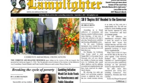 September 3, 2021 La Mirada Lamplighter eNewspaper