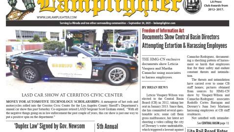 September 24, 2021 La Mirada Lamplighter eNewspaper