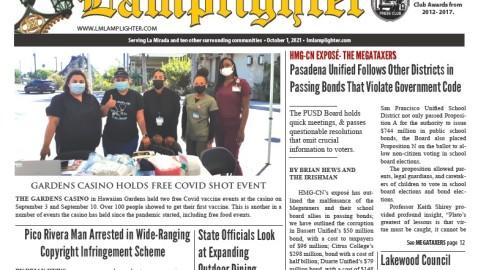 Oct. 1, 2021 La Mirada Lamplighter eNewspaper